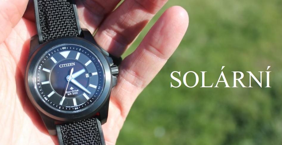 Solární hodinky – pro a proti – co byste měli vědět