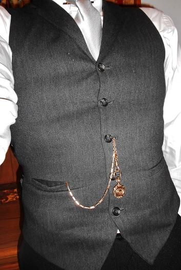 Takto se dají elegantně nosit kapesní hodinky