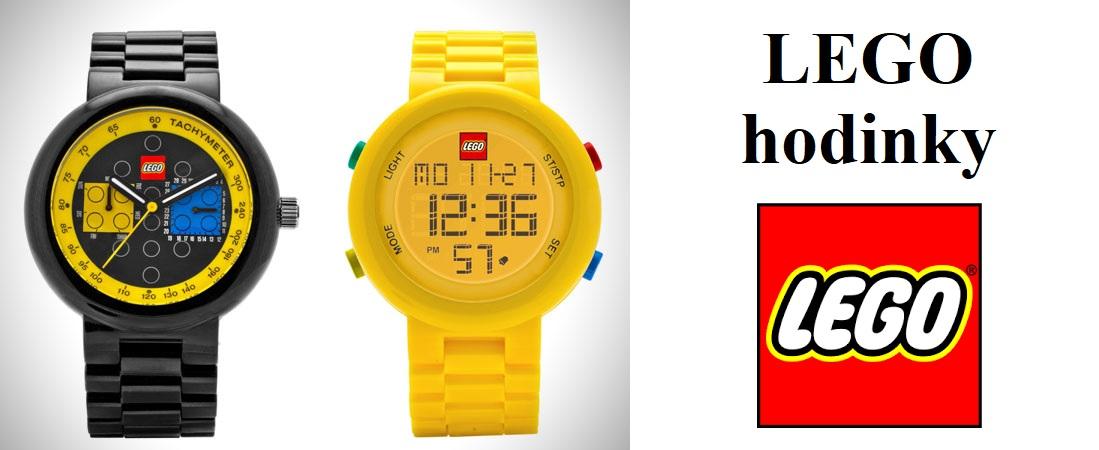 LEGO hodinky – ideální pro milovníky Lega