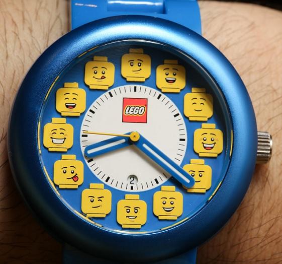 Funny LEGO hodinky