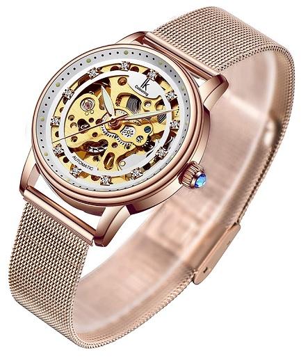 Skeletonové hodinky si mohou dnes koupit i slečny a ženy