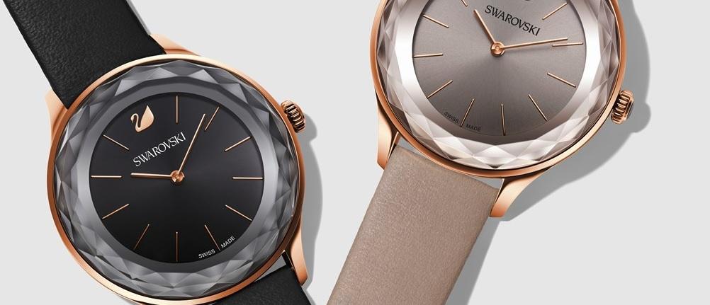 Krásné hodinky s krystaly Swarovski