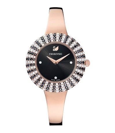Elegantní hodinky s kameny Swarovski