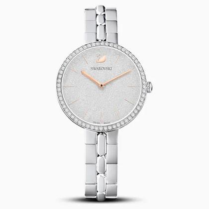 Neformální a přitom působivé hodinky s kameny Swarovski