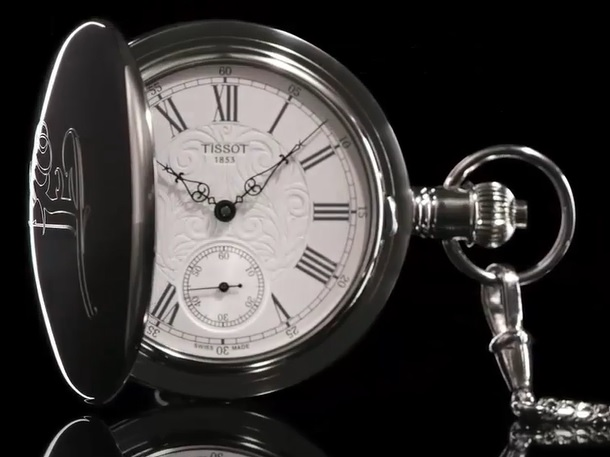Tissoot má v nabídce i kapesní hodinky