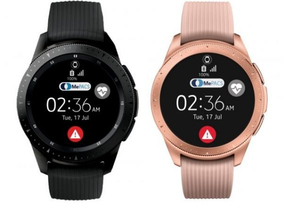 Chytré hodinky mají funkci alarmu