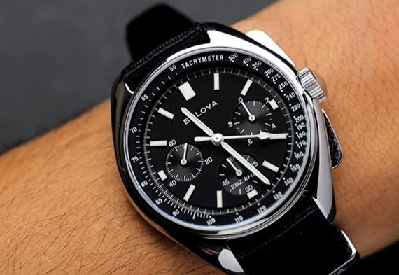 Bulova Lunar Pilot Chronograph Watch