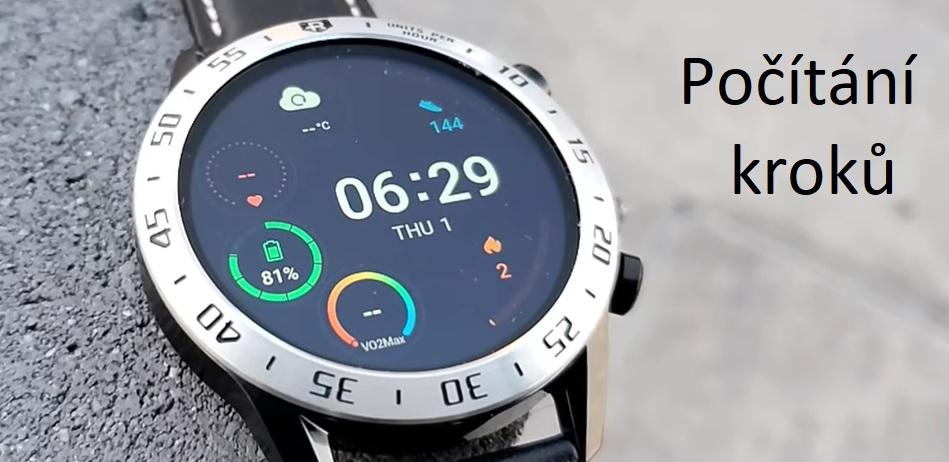 Jak chytré hodinky a fitness náramky měří kroky?