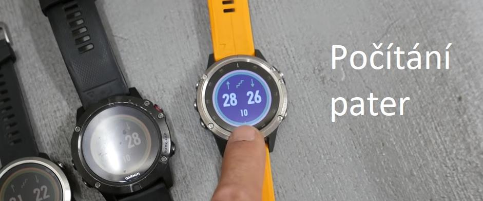 Jak chytré hodinky či fitness trackery měří vystoupaná patra?