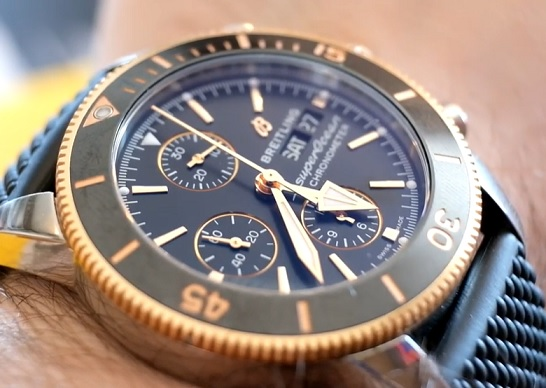 Breitling Heritage Superocean Chronograph