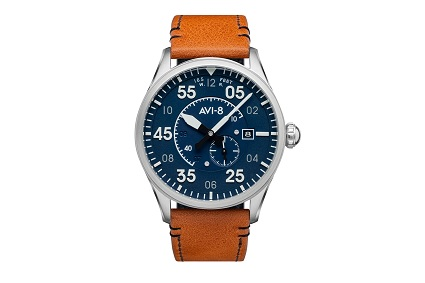 Klasický kulatý tvar pouzdra hodinek