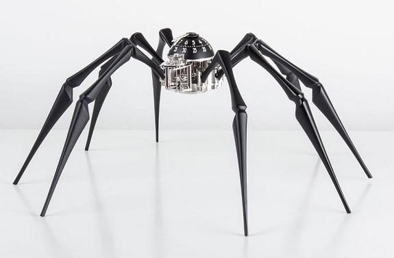 Pavoučí hodiny Arachnophobia