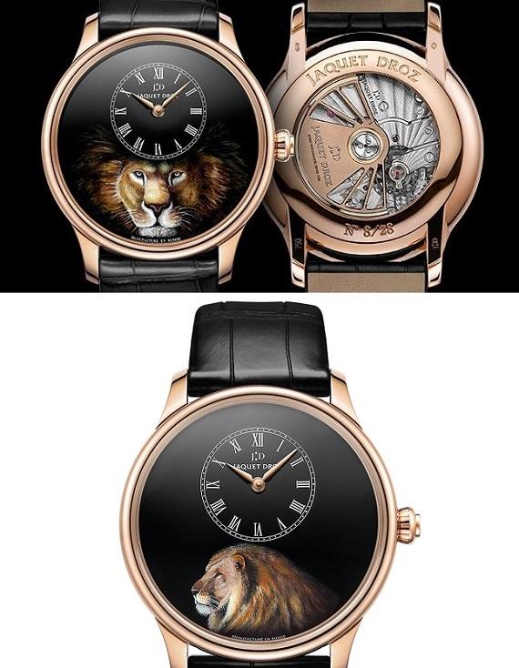 Lev - hodinky Jaquet Droz