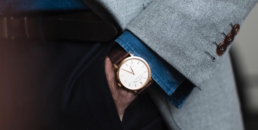 Hodinky k pánskému obleku – pravidla pro výběr formálních hodinek