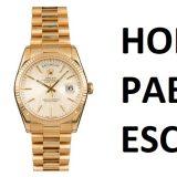 Jaké hodinky nosil narkobaron Pablo Escobar?