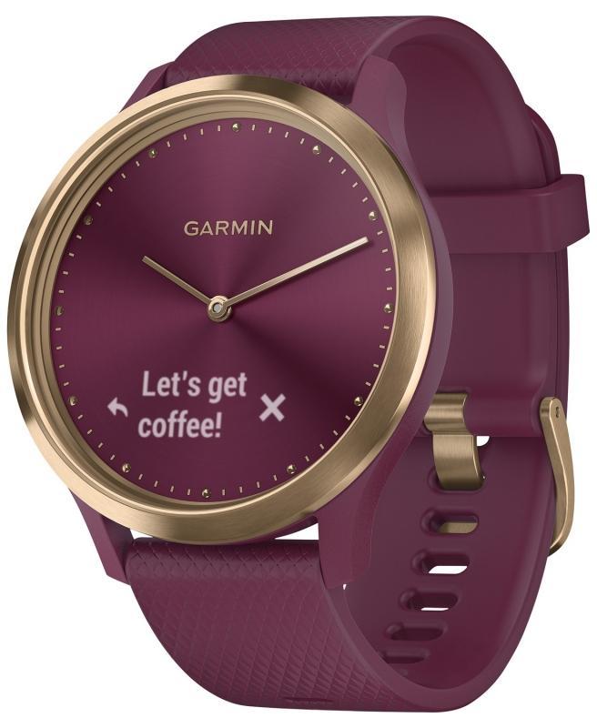Dámské červené hodinky Garmin