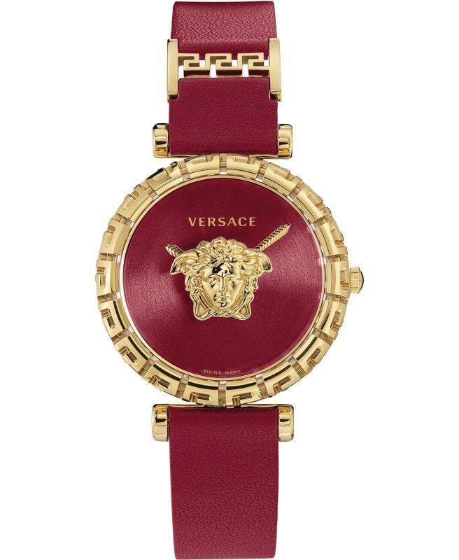 Dámské červené hodinky Versace
