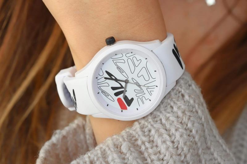 Pánské bílé hodinky Fila
