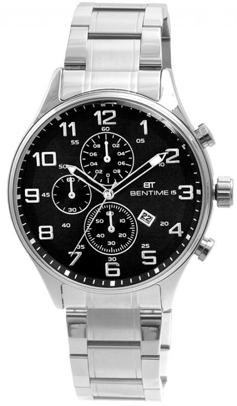 Pánské stříbrné hodinky Bentime 018-9MA-11621B