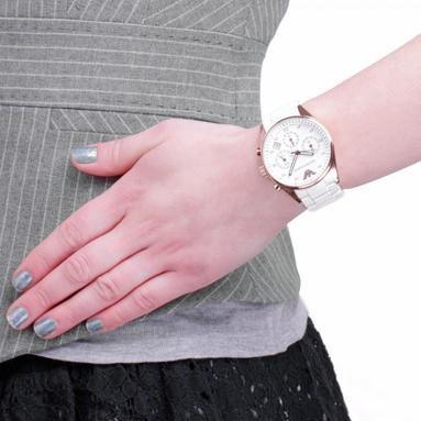 Dámské bílé hodinky