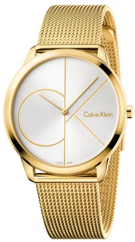 Pánské zlaté hodinky Calvin Klein Minimal K3M21526