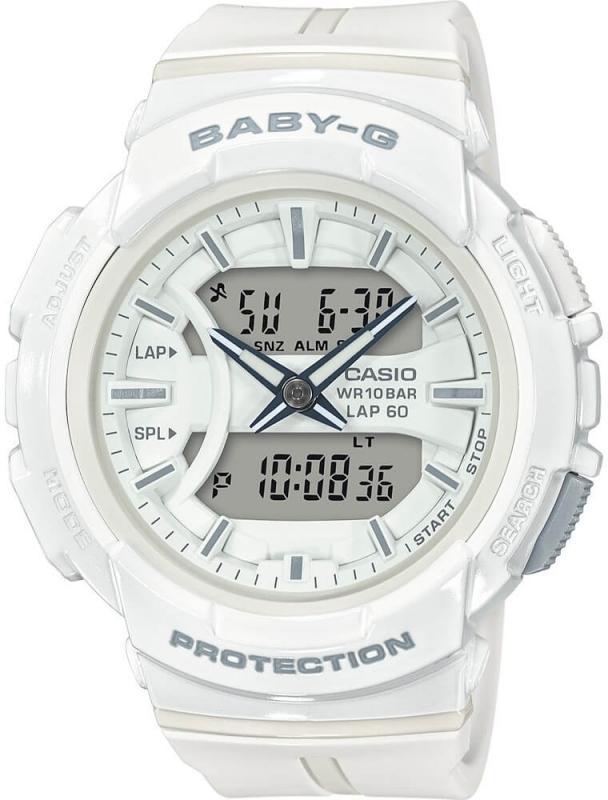 Bílé hodinky pro ženy Casio BABY-G BGA 240BC-7A