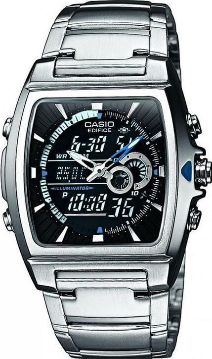 Stříbrné hodinky Casio pro muže Edifice EFA-120D-1AVEF