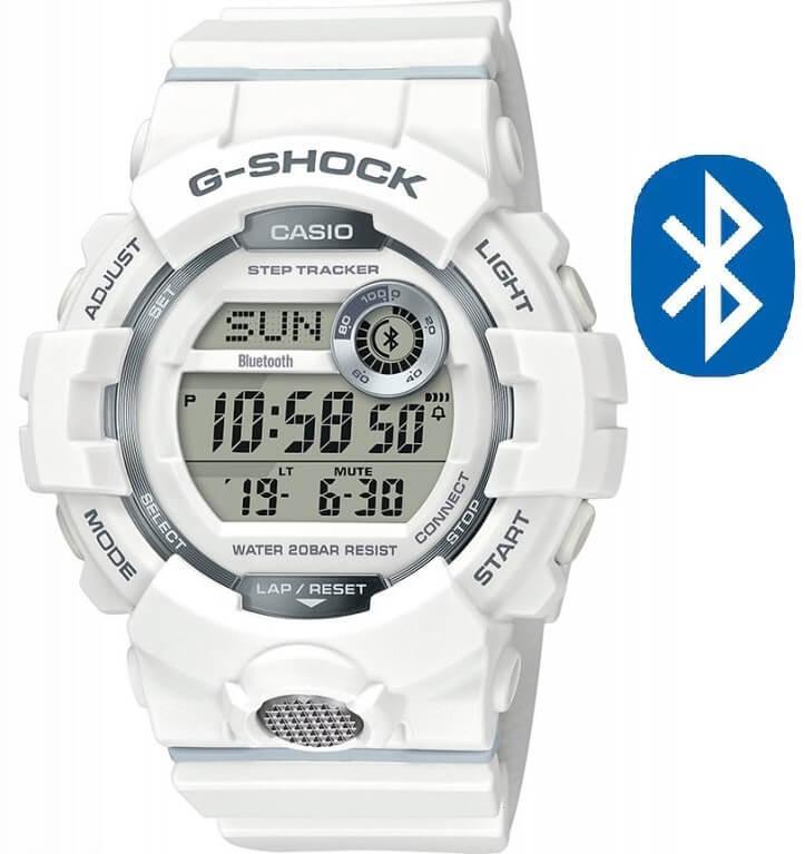 Pánské bílé hodinky Casio G-Shock