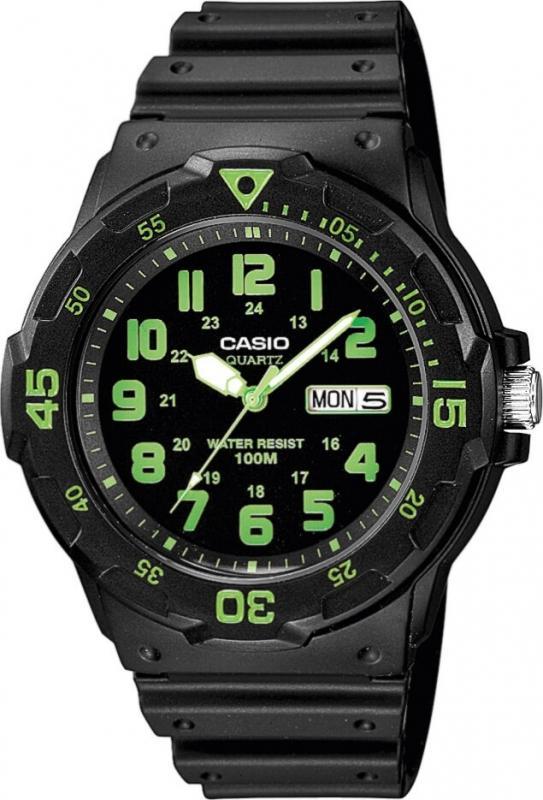 Dámské černé hodinky Casio