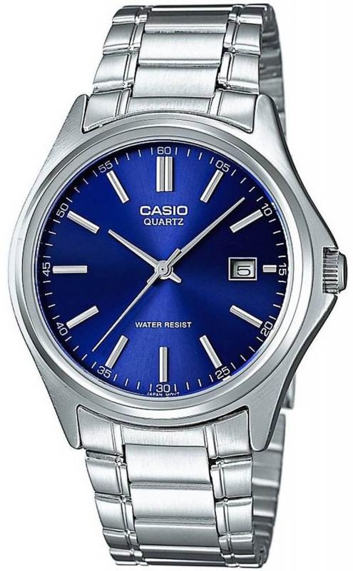 Stříbrné pánské hodinky Casio MTP-1183A-2AEF
