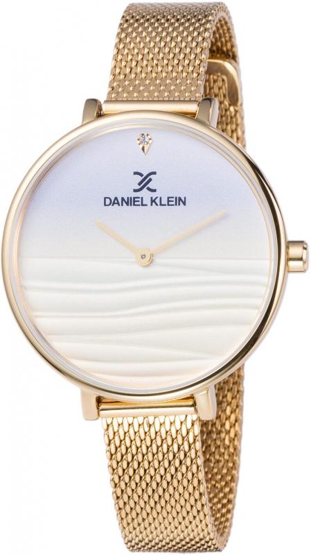 Dámské zlaté hodinky Daniel Klein