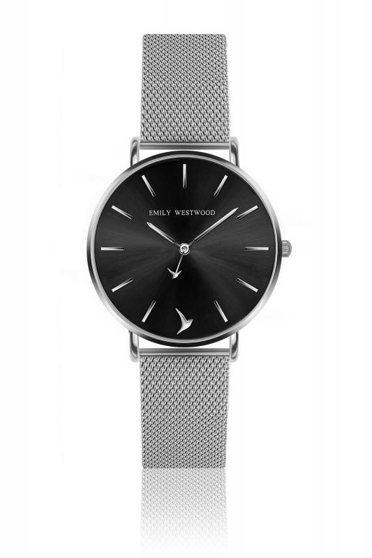 Dámské černé hodinky Emily Westwood Mini Emily