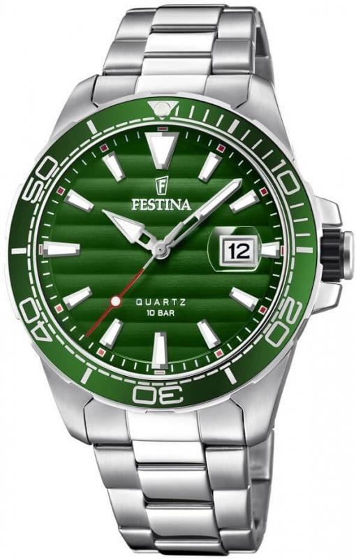 Pánské hodinky Festina Prestige se zeleným ciferníkem