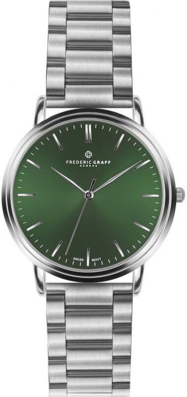 Pánské zelené hodinky Frederic Graff