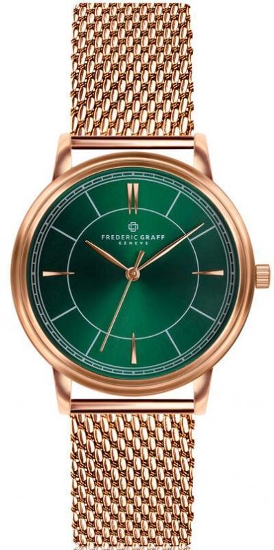 Zelené hodinky Frederic Graff Manaslu