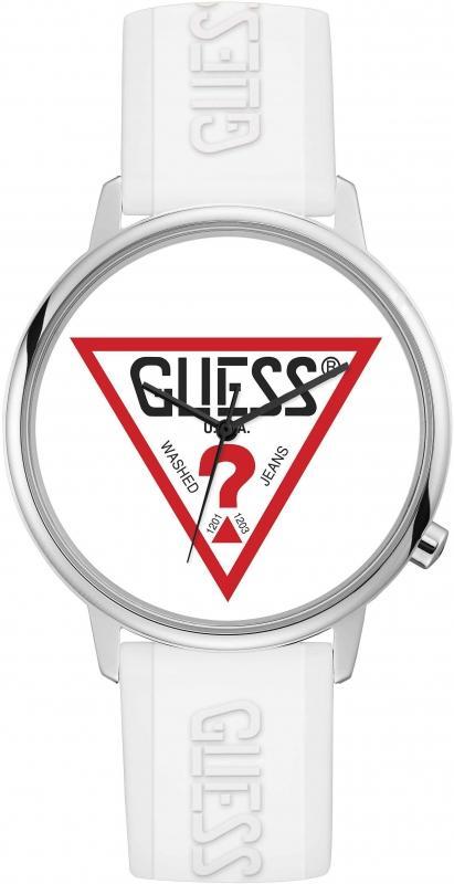 Pánské bílé hodinky značky Guess
