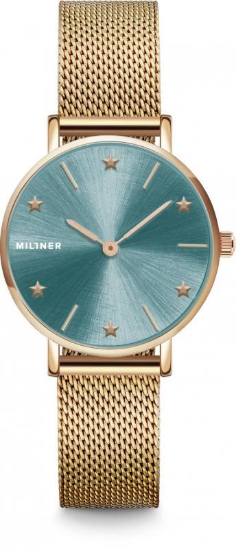 Dámské zelené hodinky Millner Cosmos Golden Green