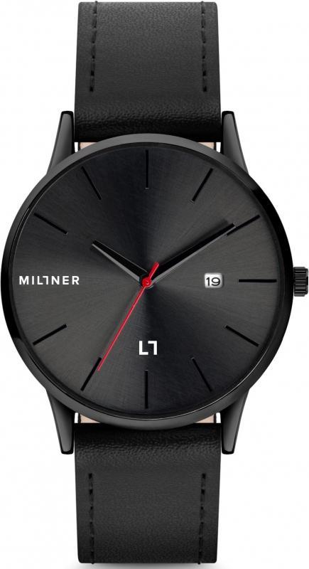 Dámské černé hodinky Millner Rodney Diamond Black