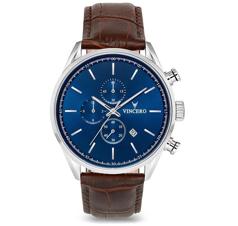 Pánské modré hodinky Vincero