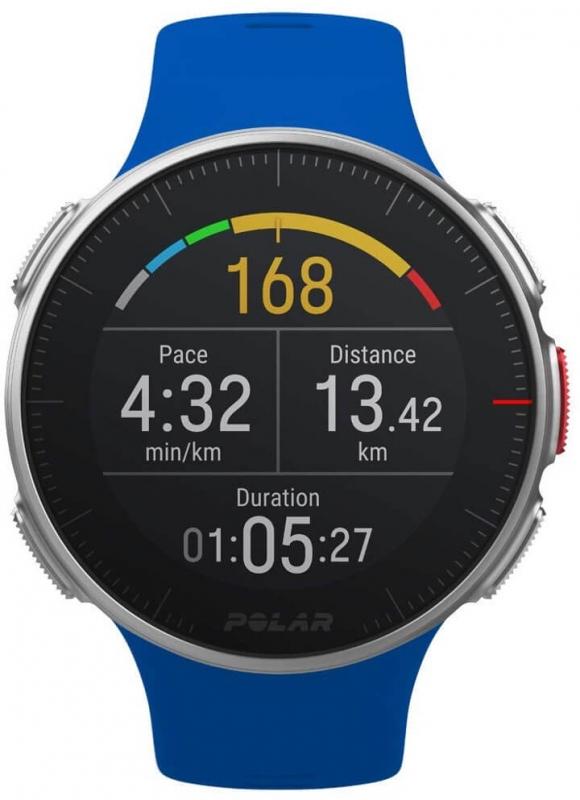 Pánské modré hodinky Polar VANTAGE V