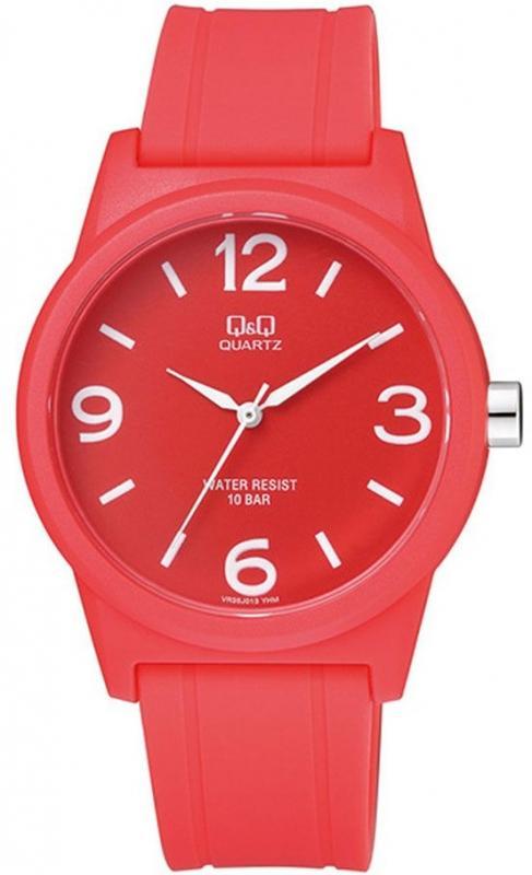 Dámské červené hodinky Q&Q