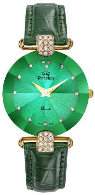 Dámské zelené hodinky Richelieu Fantasy