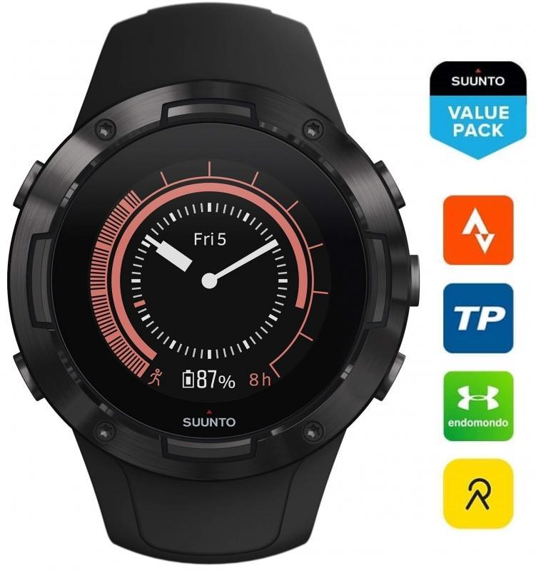 Černé hodinky Suunto 5 G1 All Black
