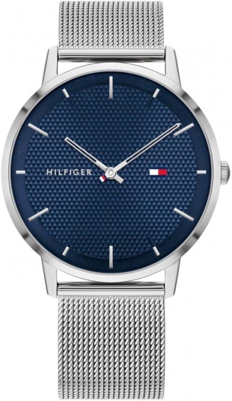 Pánské stříbrné hodinky Tommy Hilfiger James 1791663