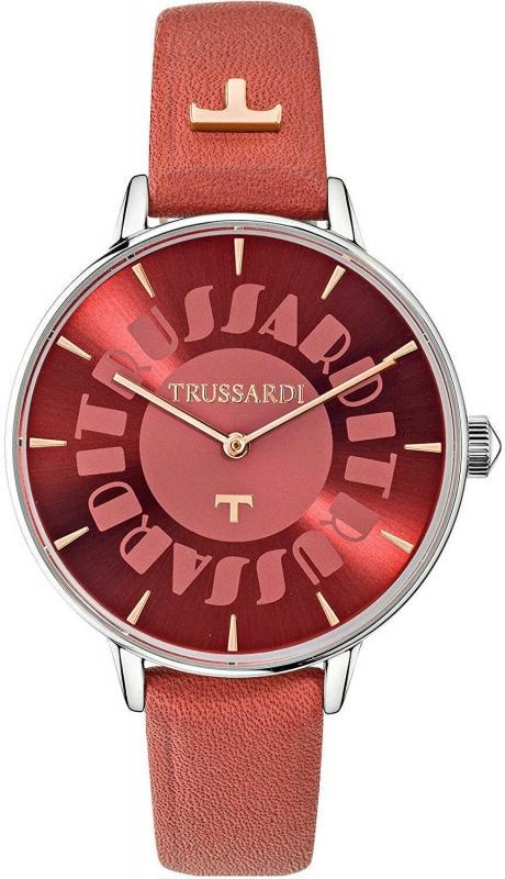 Dámské hodinky Trussardi - s červeným ciferníkem