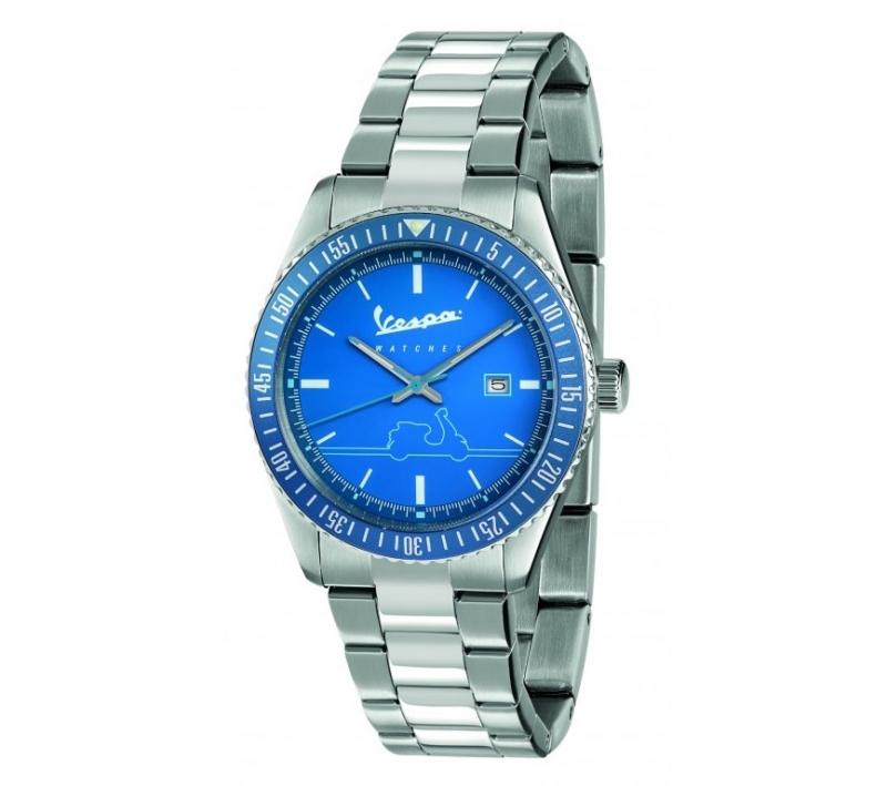 VESPA elegantní hodinky URBAN unisex silver blue