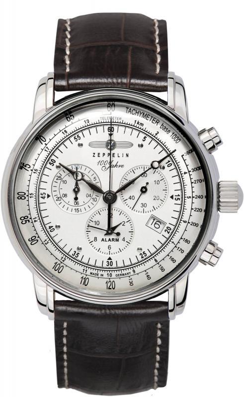 Pánské bílé hodinky Zeppelin - 100 Jahre Zeppelin
